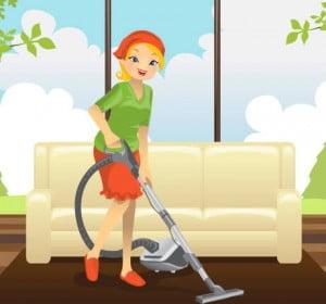 قواعد تنظيف المنازل