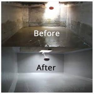 تنظيف خزان الماء الارضي