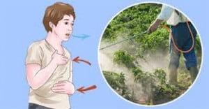اعراض التسمم بالمبيدات الحشرية
