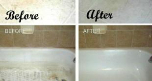 طريقة تنظيف السيراميك الابيض
