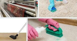 طريقة تنظيف الموكيت الفاتح